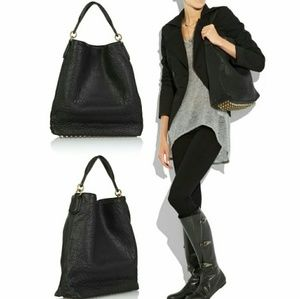 Alexander Wang Darcy Slouchy Patent Leather